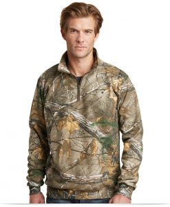 Men's Custom Logo Camouflage Softshell Jacket
