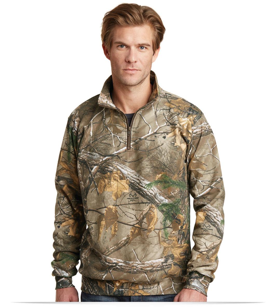 Men's Custom Logo Camouflage Softshell Jacket