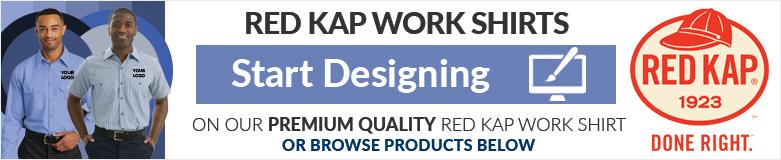 design red kap work shirts