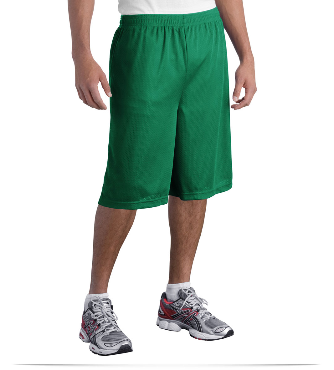 Customize Extra Long Classic Mesh Short