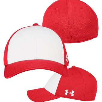 3a7f5c3b07c Under Armour Curved Bill Solid Cap. Under Armour Color Blocked Cap