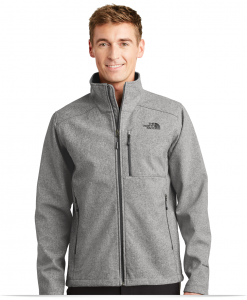 Custom Logo Men's North Face Softshell Jacket