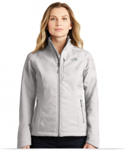 Women's Custom Logo North Face Softshell Jacket