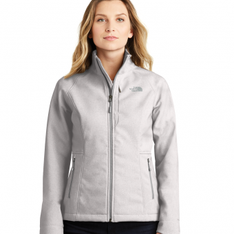 Women's Custom Logo North Face Softshell Jacket