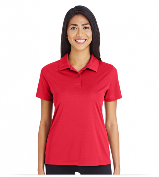 Ladies Performance Polo With Embroidered Logo