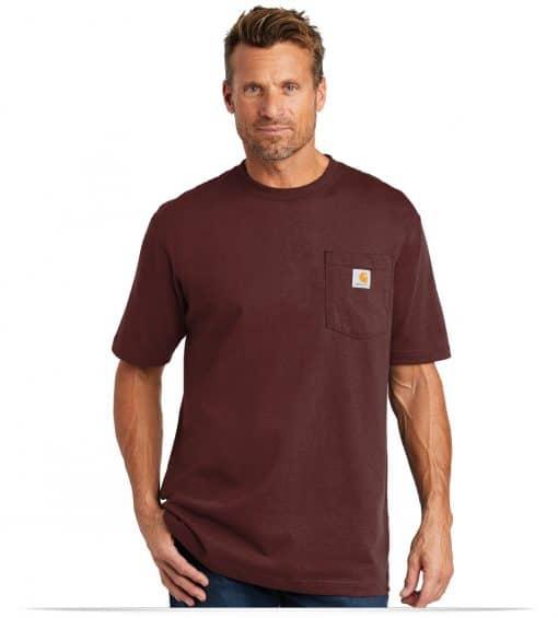 Custom Carhartt Workwear Pocket Short Sleeve T-Shirt